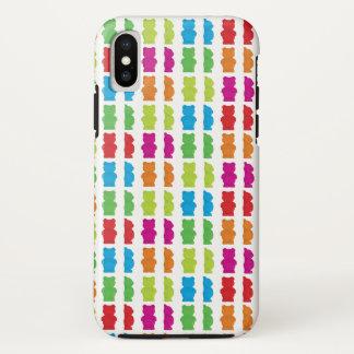 Coque iPhone X Motif gommeux d'ours