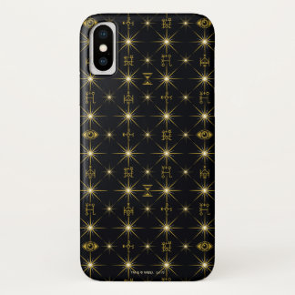 Coque iPhone X Motif magique de symboles