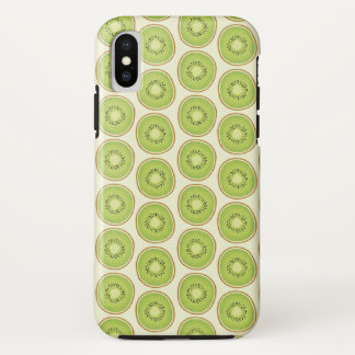 Coque iPhone X Motif mignon de kiwis