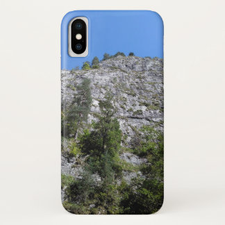 Coque iPhone X Mountain View de gorge de Bicaz, Roumanie