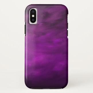 Coque iPhone X Mouvement de lavande - cas de l'iPhone X d'Apple