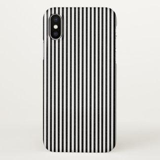 Coque iPhone X Noir et blanc
