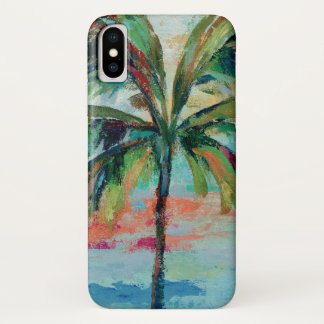 Coque iPhone X Palmier tropical de |