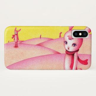 Coque iPhone X Pays de lapin