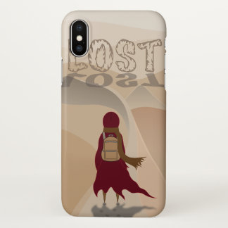 Coque iPhone X Perdu