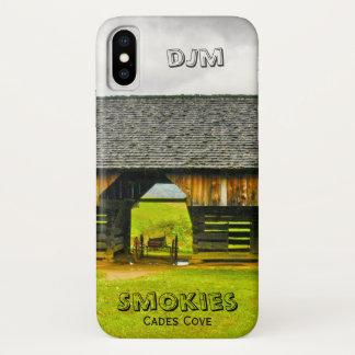Coque iPhone X Personnalisez la photographie en porte-à-faux de