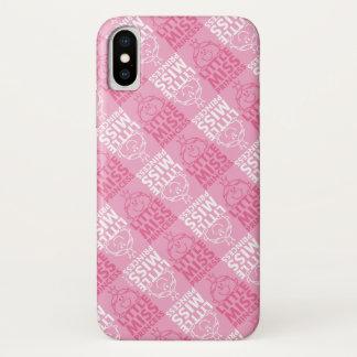 Coque iPhone X Petite Mlle le princesse   assez dans le motif