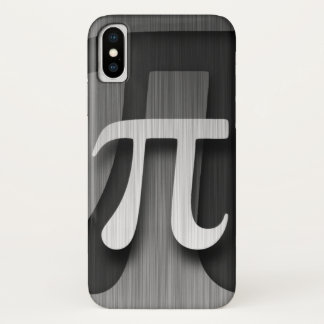 Coque iPhone X Pi fait de la lévitation final