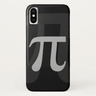 Coque iPhone X Pi foncé