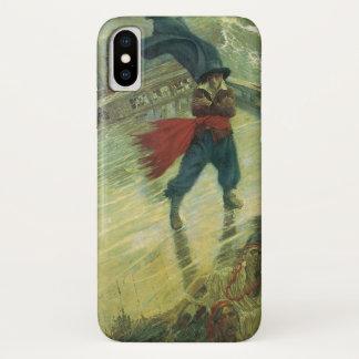 Coque iPhone X Pirate vintage, le Néerlandais de vol par Howard