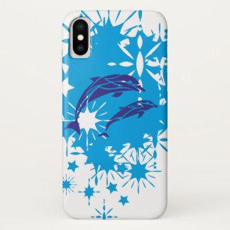 Coque iPhone X Plaisir de dauphins