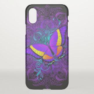 Coque iPhone X Plaisir de papillon