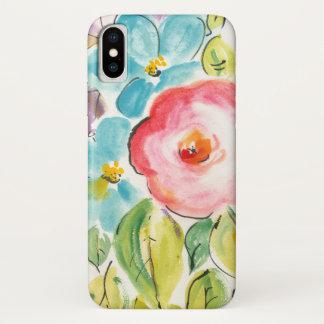 Coque iPhone X Plaisir II de fleur