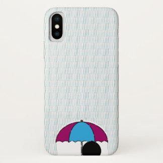 Coque iPhone X Pluie