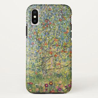Coque iPhone X Pommier Par Gustav Klimt, art vintage Nouveau