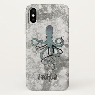 Coque iPhone X Poulpe sous-marin