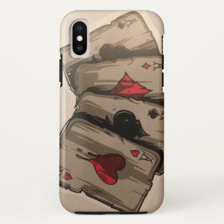 Coque iPhone X Quatre as