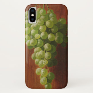 Coque iPhone X Raisins verts