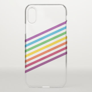 Coque iPhone X rayure de cas AG de l'iPhone X