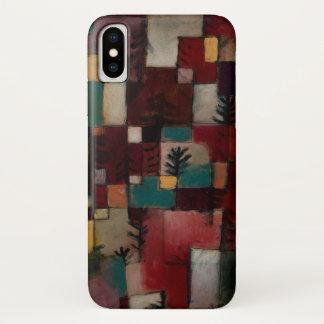 Coque iPhone X Redgreen et rythmes Violet-jaunes par Paul Klee