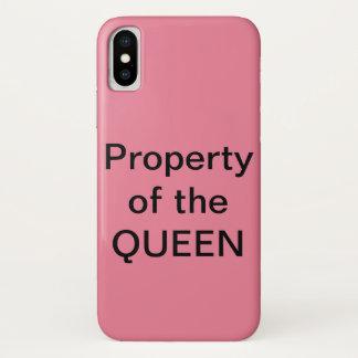 Coque iPhone X Reine