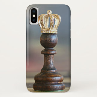 Coque iPhone X Reine d'échecs