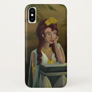 Coque iPhone X Reine égyptienne