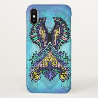 Coque iPhone X René - foncé, de Bohème, spiritualité