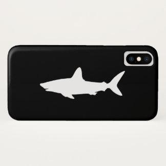 Coque iPhone X Requin de natation