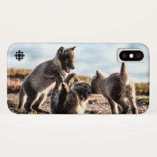 Coque iPhone X Ressort - Fox arctique