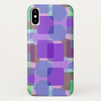 Coque iPhone X Rétros couleurs