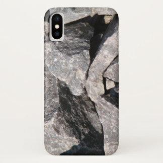 Coque iPhone X Roche lâche de granit
