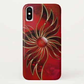 Coque iPhone X Rouge en tant que Coque-Compagnon d'iPhone de