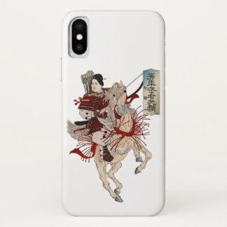 Coque iPhone X Samouraïs de femme - Japonais