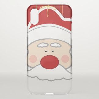 Coque iPhone X Série de Noël du père noël