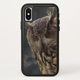 Coque iPhone X Série renversante de photographie de hibou