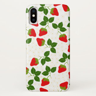 Coque iPhone X Strawblossoms