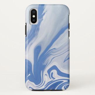 Coque iPhone X Sur le bord de Dream.Blue un ciel opacifie