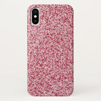 Coque iPhone X Texture abstraite