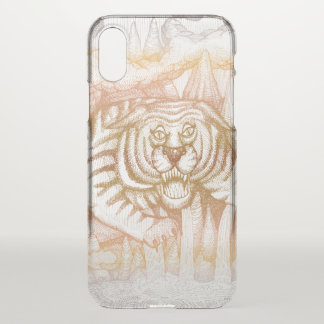 Coque iPhone X Tigre de la montagne