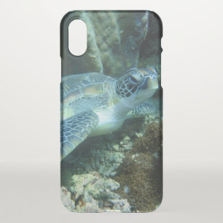 Coque iPhone X Tortue de mer