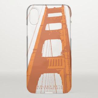 Coque iPhone X Tour de golden gate bridge
