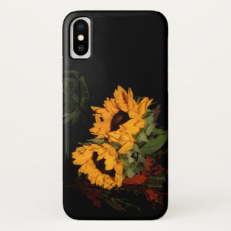 Coque iPhone X Tournesol