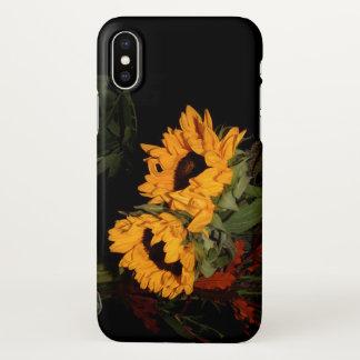 Coque iPhone X Tournesols