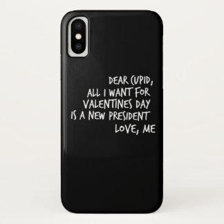 Coque iPhone X Tout que je veux pour le jour de Valentines est un
