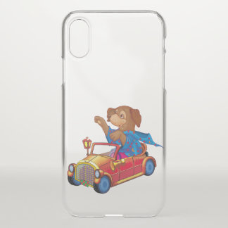 Coque iPhone X train et voiture