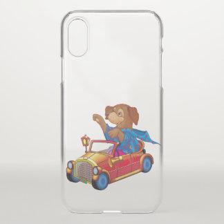 Coque iPhone X train et voiture
