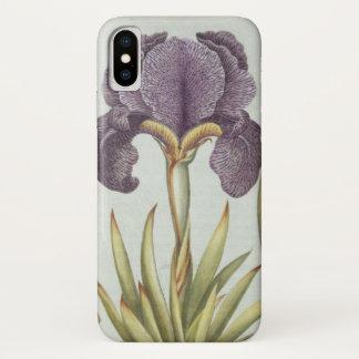 Coque iPhone X Trois variétés d'iris imberbes de Rhizomatous