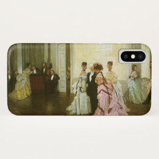 Coque iPhone X Trop tôt par James Tissot, art victorien vintage