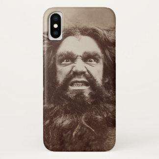 Coque iPhone X Type fâché (appliquez la conception à d'autres cas